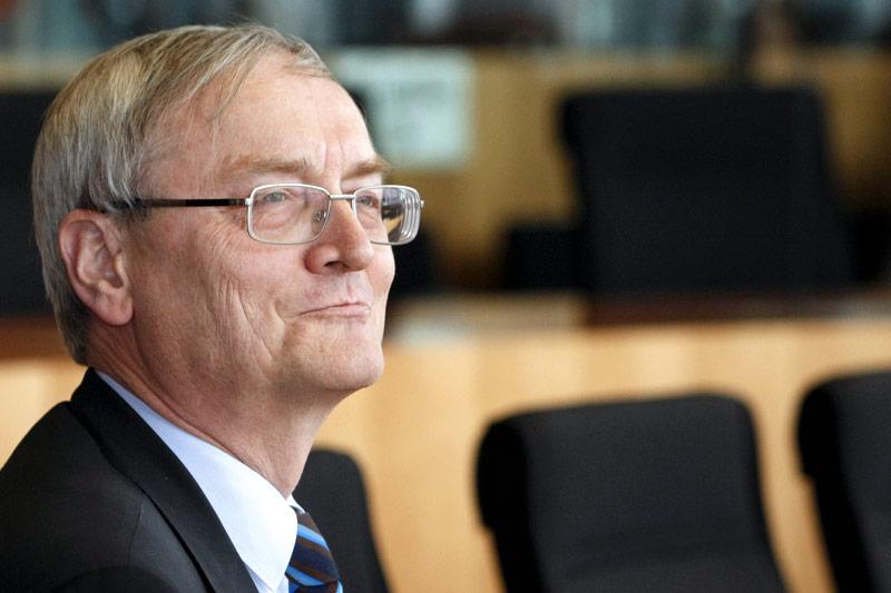 Der ehemalige Chef des deutschen Bundesnachrichtendienstes (BND), August Hanning