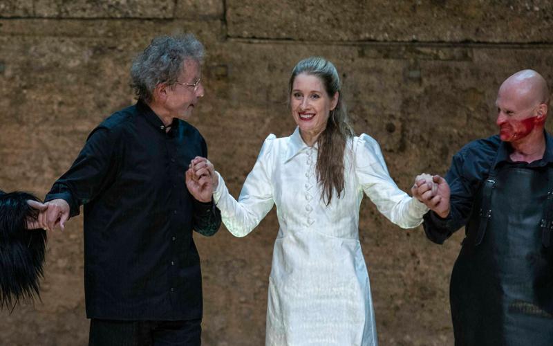 Malis Byström als Salome im Schlussapplaus