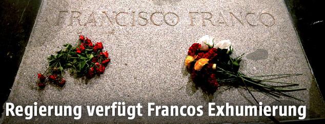 Grab von Francisco Franco