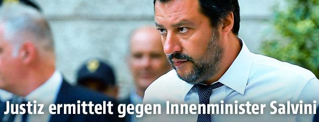 Italiens Innenminister Matteo Salvini