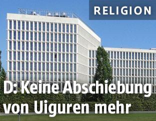 Das deutsche Innenministerium in Berlin