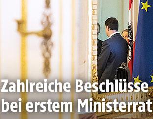 Offene Tür zum Ministerrat