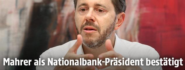 Der designierte Nationalbank-Präsident Harald Mahrer