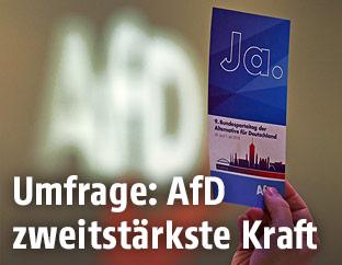 Parteiveranstaltung der AfD