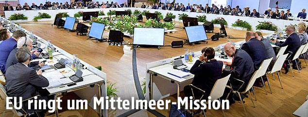 EU-Verteidigungsministertreffen in Wien