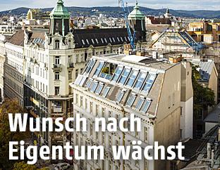 Wohnhäuser in Wien